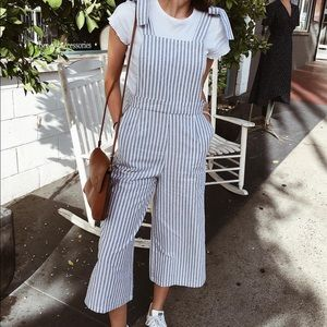 Stripped Romper